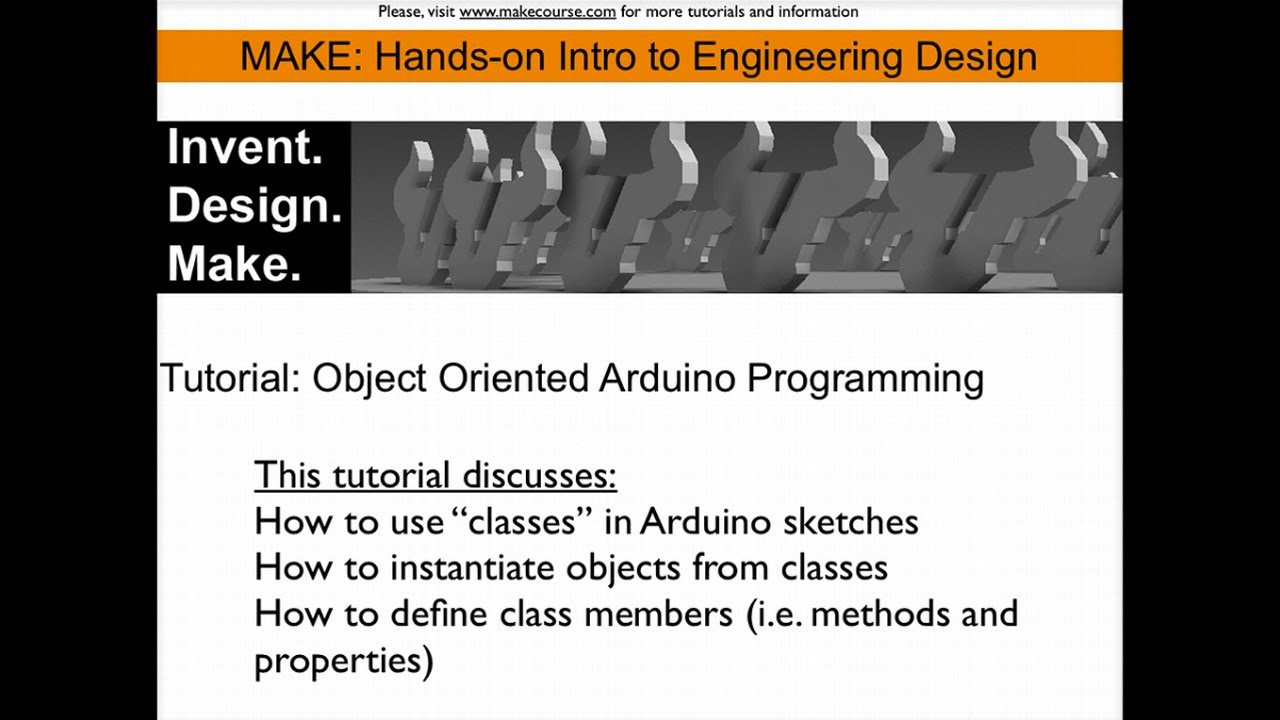 tutorial object oriented programming the arduino tutorial object oriented programming the arduino