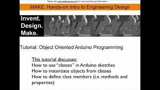 Öğretici: Nesne Arduino ile Programlama Odaklı