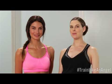 Train Like An Angel: Lily Aldridge