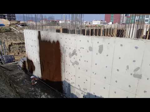 perde duvar su izolasyonu-yalıtımı