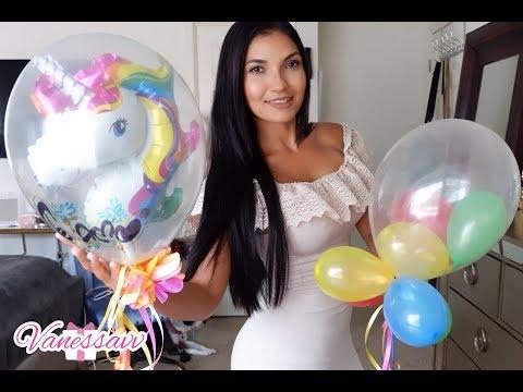 Como inflar un globo dentro de otro