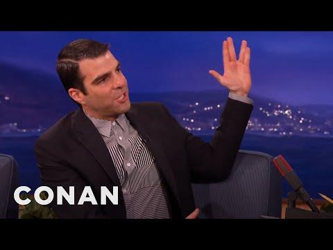 """Zachary Quinto On """"The Slap""""  - CONAN on TBS"""