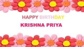 KrishnaPriya   Birthday Postcards & Postales88 - Happy Birthday