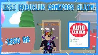 1250 R$ ROBUXA GAMEPASS ALDIM !! /Roblox Yo-Yo Simulator / Roblox Türkçe
