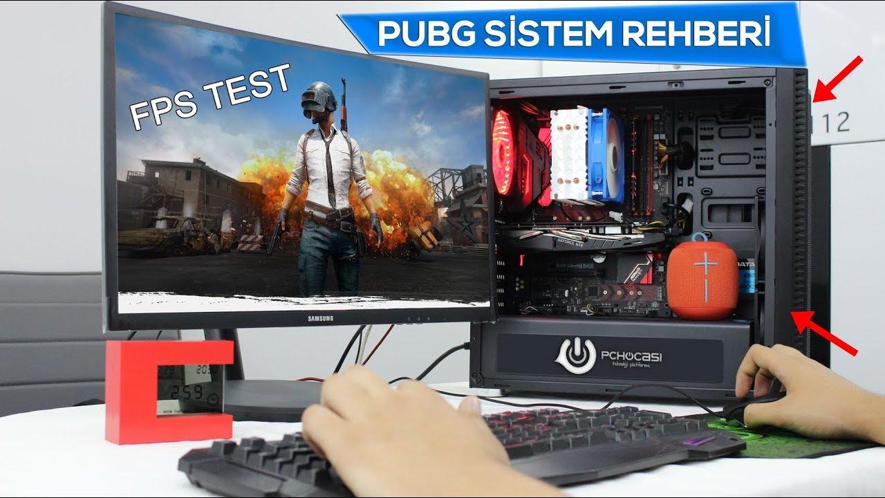 PUBG Sistem Rehberi - FPS TESTİ