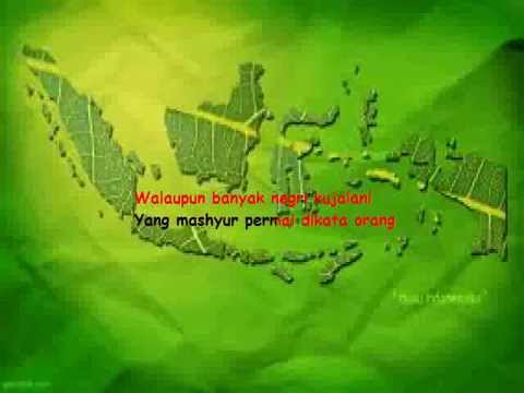 Karaoke Ibu Sud - Tanah Air ku (Tanpa Vokal)