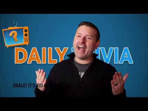 FREE TRIVIA ANSWER WITH KID CORONA'S DAILY TRIVIA