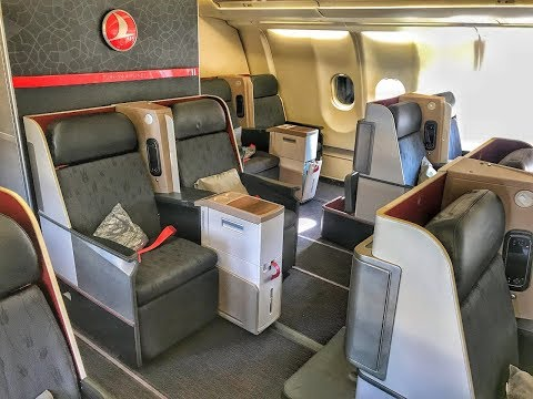 Turkish Airlines Business Class | Airbus A330 | IST-KBP