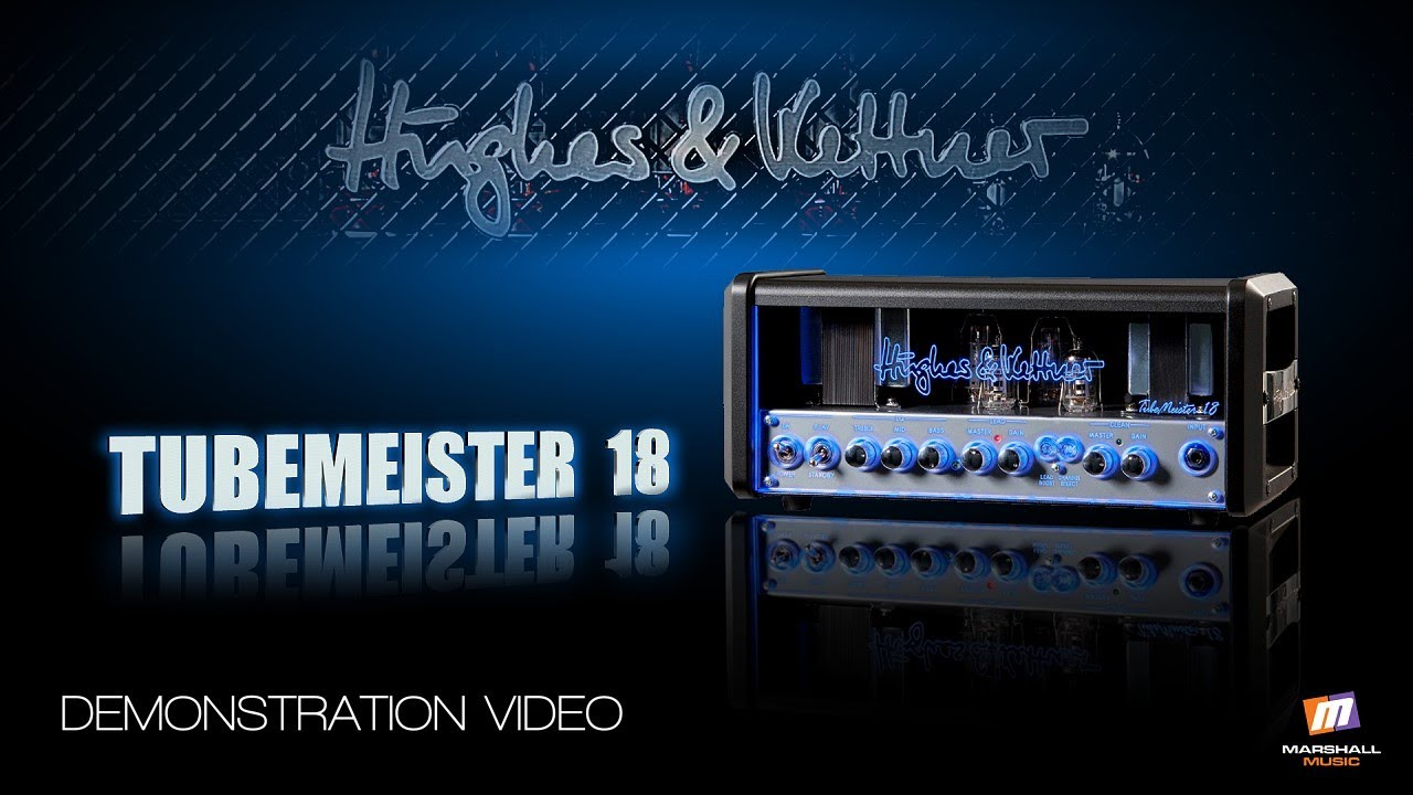 hughes and kettner tubemeister 18 demonstration video peter hanmer youtube. Black Bedroom Furniture Sets. Home Design Ideas