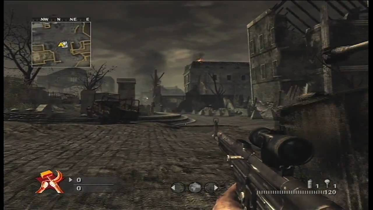 Call of Duty World at War Creepy Sounds - Downfall: Hitler ...