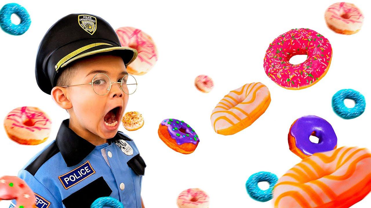 Граємо в поліцію - пончики пропали