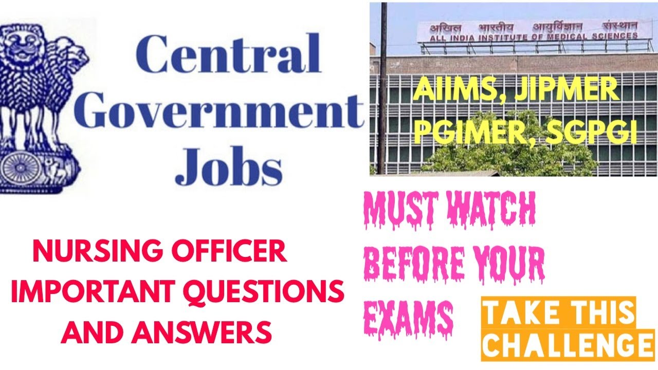 PREVIOUS YEARS STAFF NURSE EXAM QUESTIONS AND ANSWERS ...