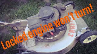 DIY Unseize a Locked Up Small Engine