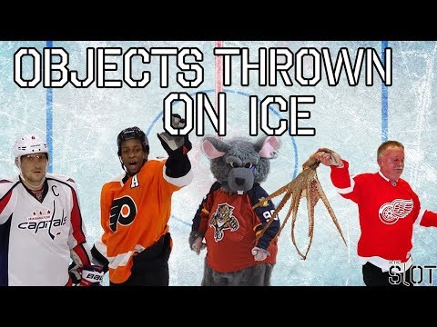 The History of Objects Thrown On The Ice