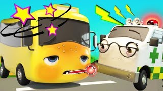 Buster Gets Sick - Go Buster | Baby Songs | Cartoons For Kids | Little Baby Bum
