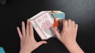 Stamping T! - Book Shaped Card