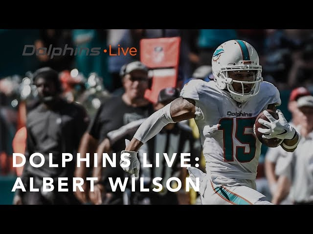 Albert Wilson talks the win at home   Miami Dolphins