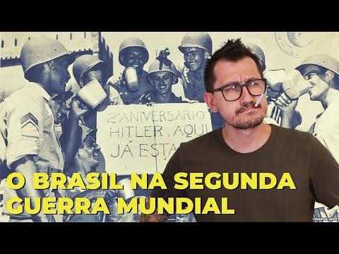 O BRASIL NA SEGUNDA GUERRA MUNDIAL    VOGALIZANDO A HISTÓRIA