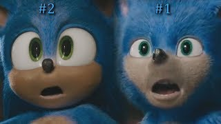 Sonic The Hedgehog - Trailer Comparison Side by Side 2020