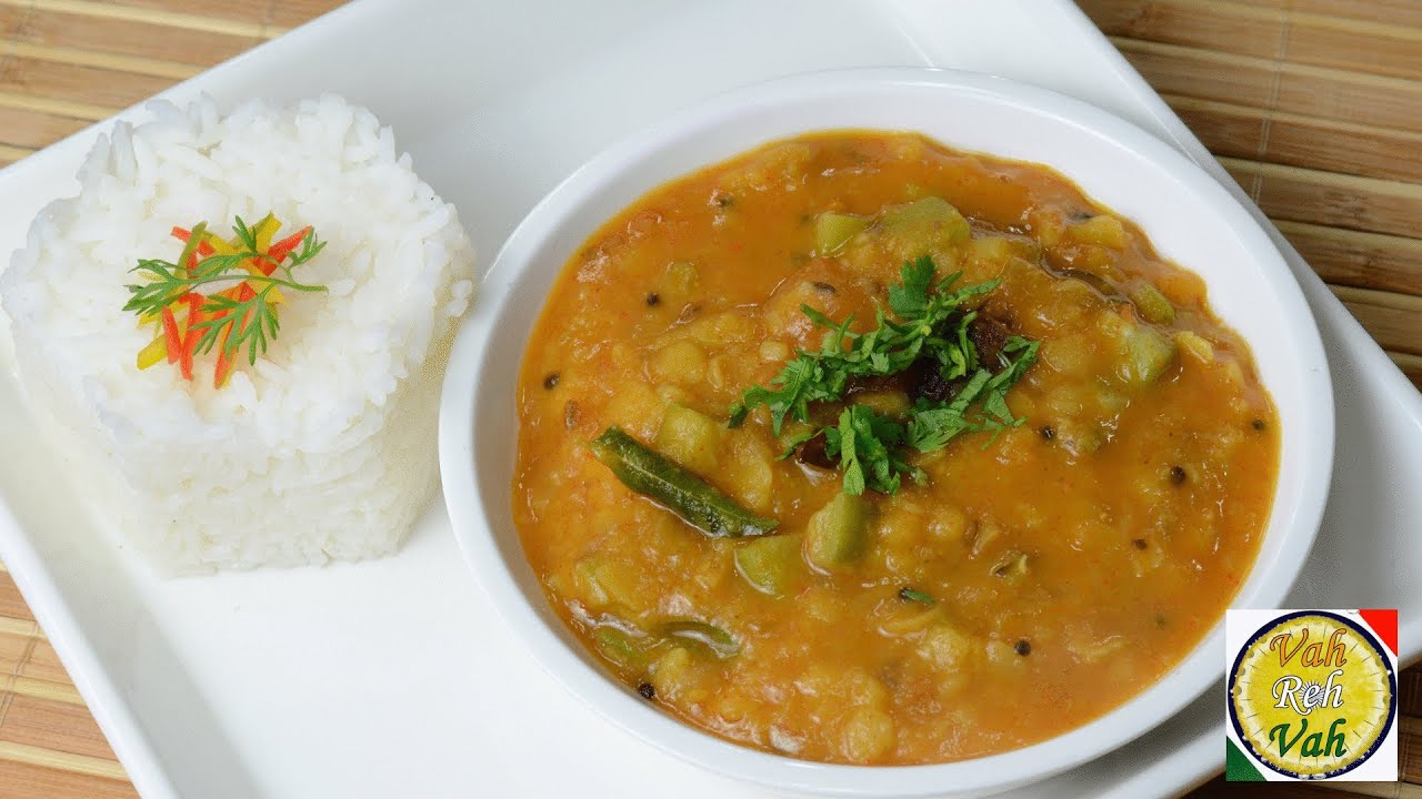 Masala Dal with Onion Tomato Gravy - By Vahchef @ vahrehvah.com
