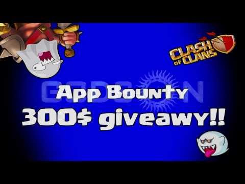 Clash Of Clans - 300$ App Bounty Giveaway / Halloween Costume Contest!