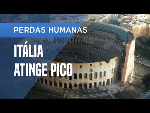 ITÁLIA ATINGE PICO DE MORTES PELA PANDEMIA DO NOVO CORONAVÍRUS