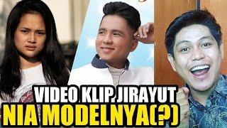 NIA JADI MODEL VIDEO KLIP JIRAYUT(?) BUKANNYA MASIH KOMPETISI?
