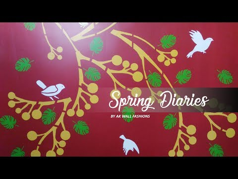 Asian Paints Royale Play Spring Diaries Wall Design