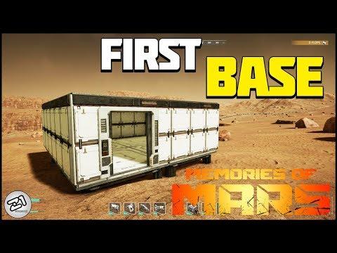 First BASE! Memories Of Mars Gameplay E2 | Z1 Gaming