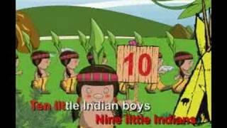Ten little Indian Boy