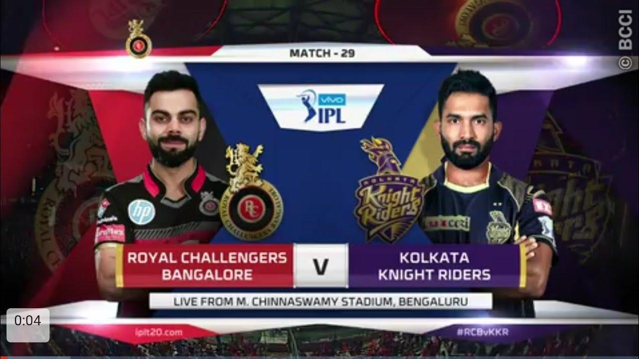 RCB vs KKR Match Highlights | IPL 2018 | 29th Match ...