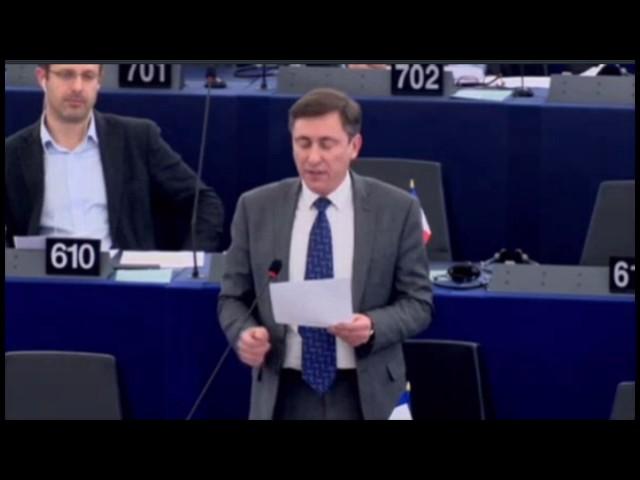 Bernard Monot sur le rapport annuel de la BCE