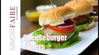 How to make Cheeseburger Sliders  SAVOIR FAIRE by enrilemoine