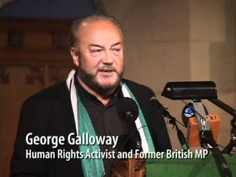 George Galloway in Vancouver, Canada: Free Palestine, Free Afghanistan, Free Speech