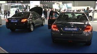 Азербайджан представил свои авто в России