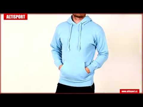 039fe87af53 pánská mikina s kapucí fruit of the loom classic hooded sweat sky blue