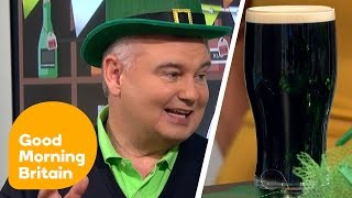 Eamonn Holmes Pulls a Perfect Pint of Guinness | Good Morning Britain