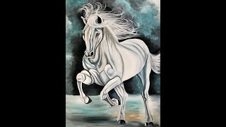 Boundless horse painting