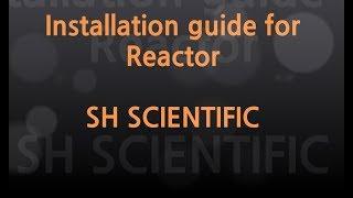 이중자켓(리엑터 Reactor) 조립영상
