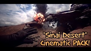 "Battlefield 1: ""Sinai Desert"" Cinematic PACK! #1(Ultra, 1080p & 60FPS) FREE Download!"