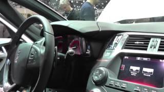 Close Look At New Citroen DS5, Under Bonnet & Inside