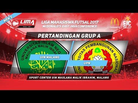 UIN MALANG vs UPN  di LIMA Futsal McDonald's East Java Conference 2017 (Men's)