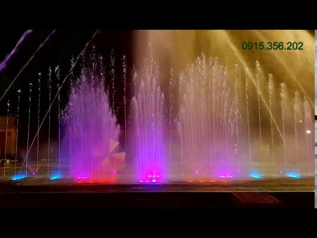 Nhạc nước quảng trường Tp. Hà Giang