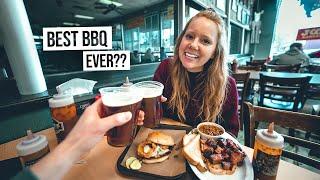 We Finally Tried Kansas City BBQ! 😍 + Exploring The City!