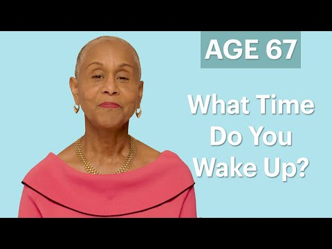 70 Women Ages 5 to 75: What Time Do You Wake Up In the Morning? | Glamour