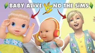 Baixar BABY ALIVE NO THE SIMS 4? A MEGIE FEZ! - Lilly Doll