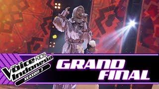 "Gambar cover Sharla ""Laksmana Raja Di Laut (Zapin)"" | Grand Final | The Voice Kids Indonesia Season 3 GTV"