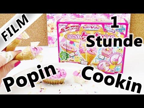 Popin' Cookin' Sets DIY Süßigkeiten von Kracie | Demos & Tests | Pizza, Softeis & Ramen | 60 Min