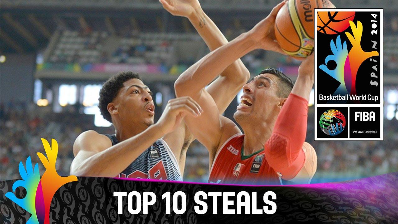 Top 10 Steals - 2014 FIBA Basketball World Cup