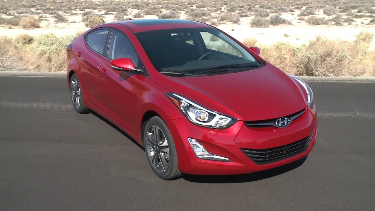 2016 hyundai elantra sedan in red interior design automototv youtube. Black Bedroom Furniture Sets. Home Design Ideas